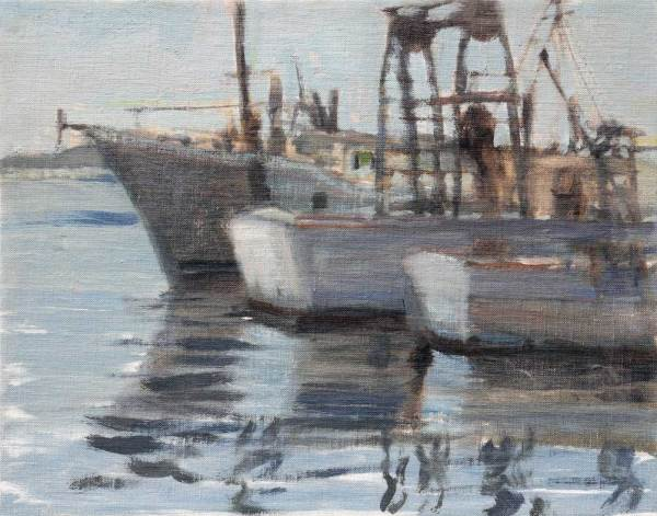 Boats in Waiting, Star Fish Marina, Bradenton, FL