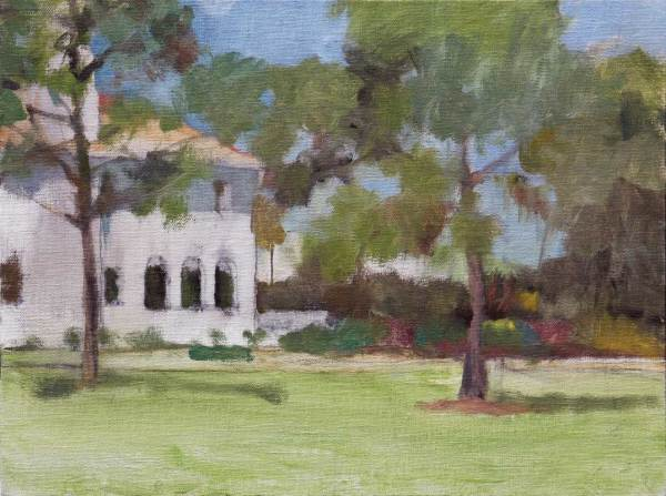Sketch Painting of Edson Keith Mansion