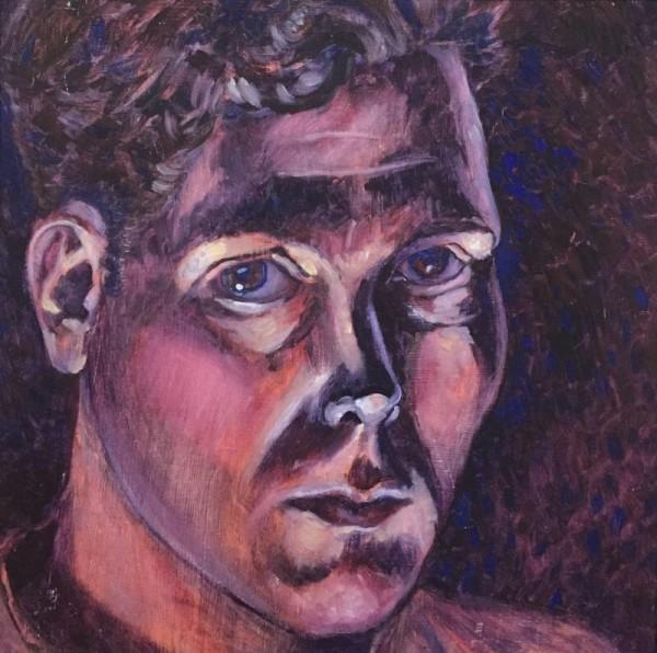 Pensive, a Self-portrait