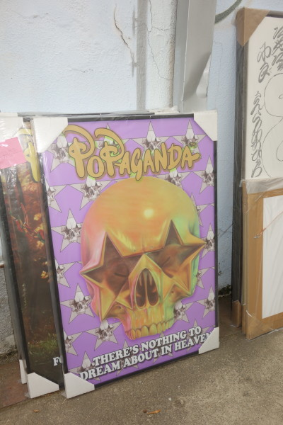 """Star Skull Poster """"There's nothing to Dream about in Heaven"""""""