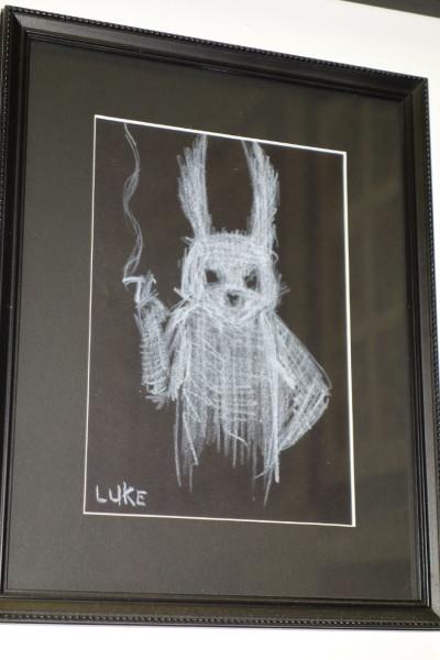 smoking bunny