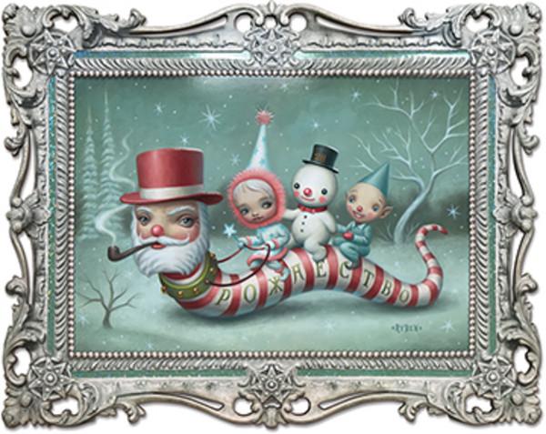 """Santa Worm"""