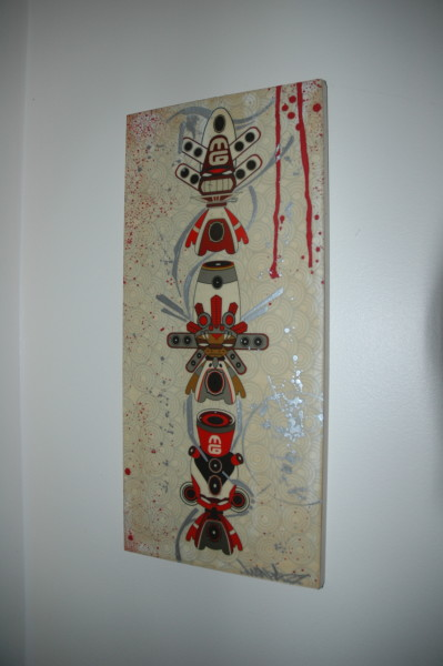 Red & White Minigod Parallel