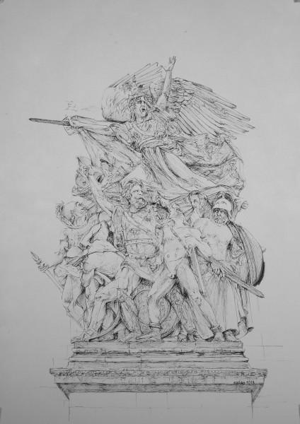 La Marianne (Arc de Triomphe)