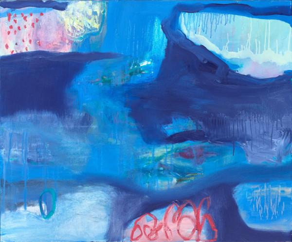 Blue vast meanderings 1