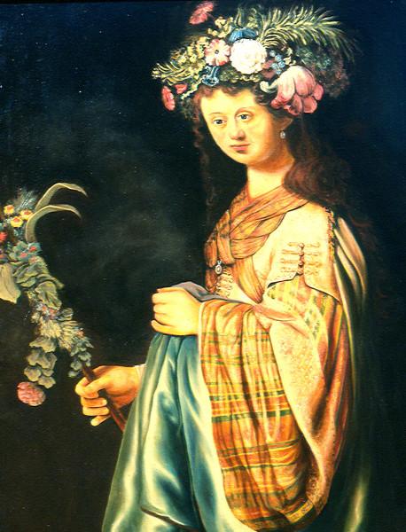 Flora After Rembrandt