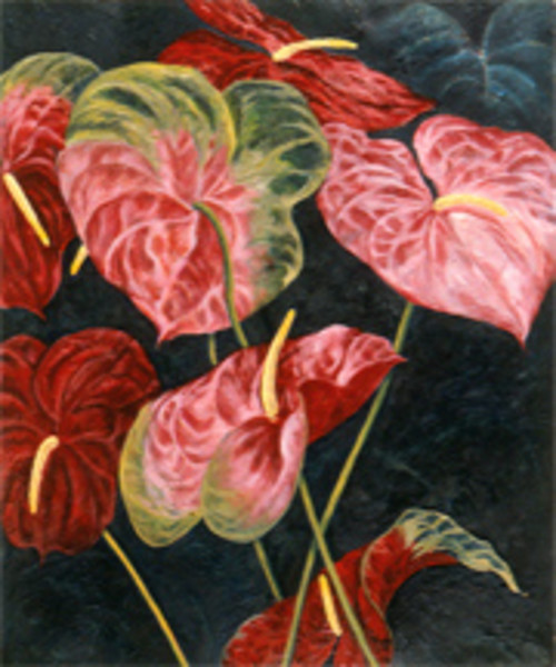 Red & Pink Anthuriums