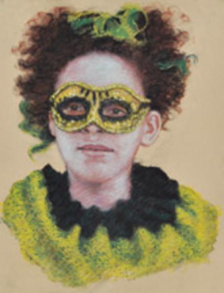 Study for Harlequin (Lynette Davis)