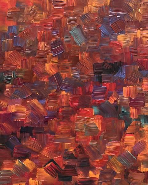 Red Orange Mosaic