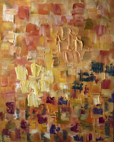 Yellow and Orange Mosaic