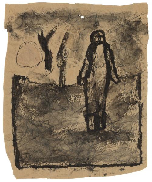 Untitled (Figure in Landscape)
