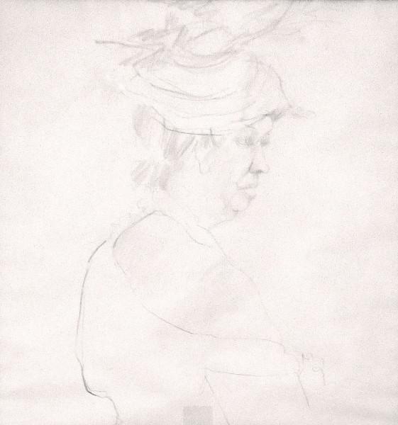 Women in Hat