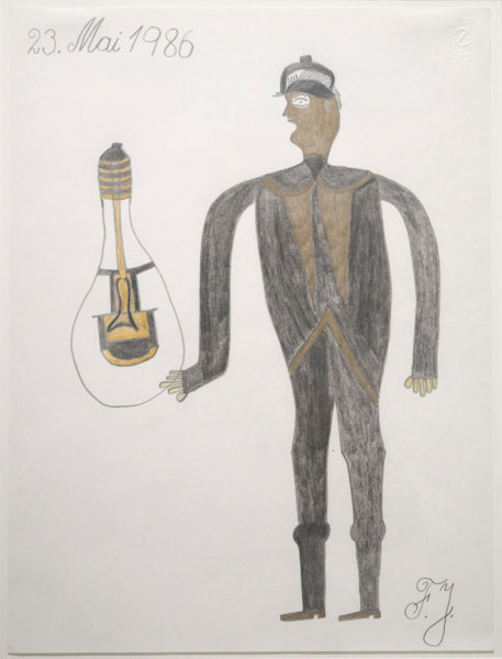 Untitled (Man with Lightbulb)
