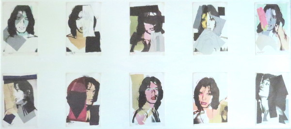 Mick Jagger (Ten 6 x 4 in Prints)