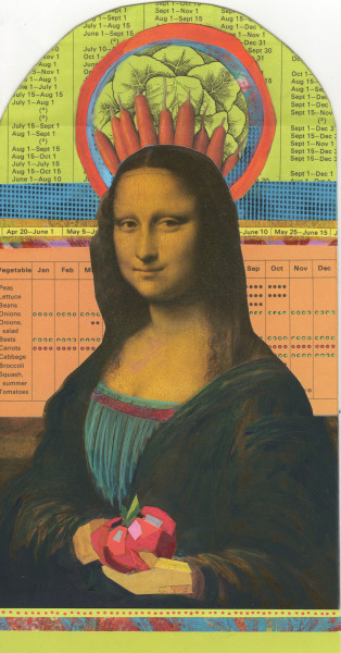 Mona Lisa Loved To Garden