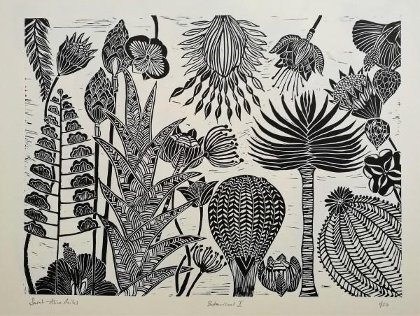 Botanical I (black) #1 of 50