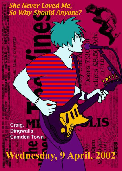 Craig DIngwalls Camden Town 2002