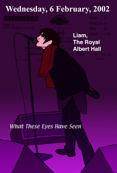 Liam The Royal Albert Hall 2002