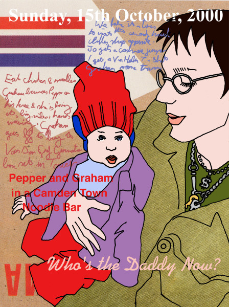 Graham and Pepper Camden 2000