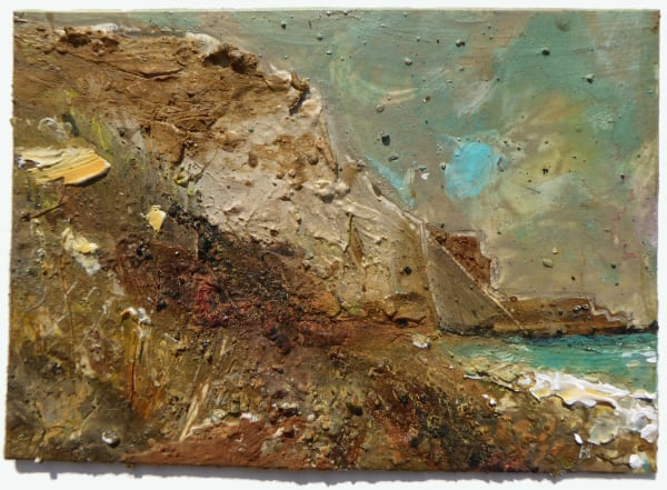 29. Watton Cliff with Cobalt Turquoise. Eype, Dorset