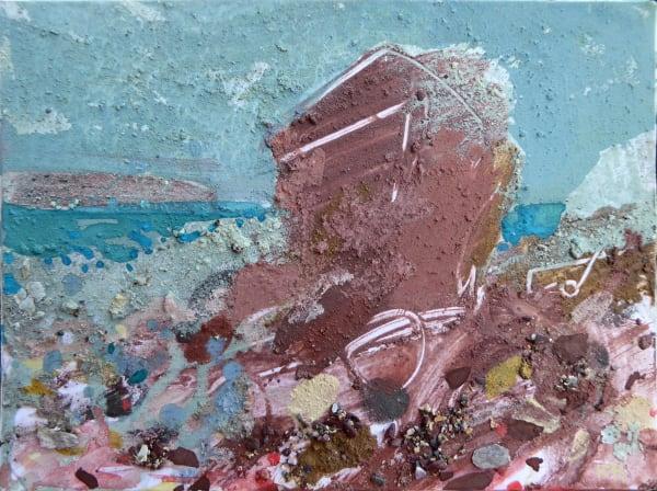 73. Gateholm Stack Study. Marloes Sands, Pembrokeshire.