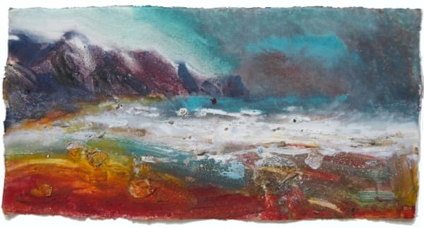 Dawn. Turquoise Rain, Charmouth.