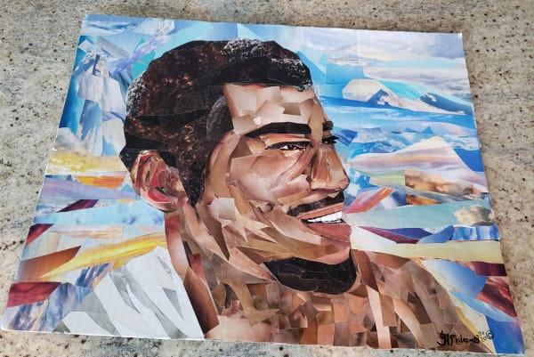 """Portrait Collage Commission. 11""""×14"""""""
