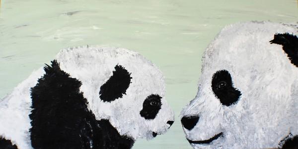 Baby Panda and mama