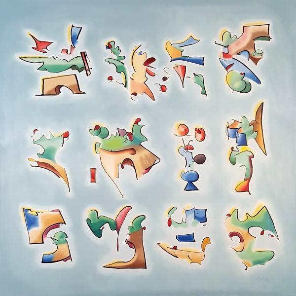 Twelve Glyphs