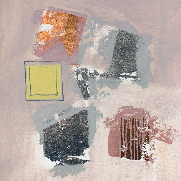 Abstract Study (yellow square)