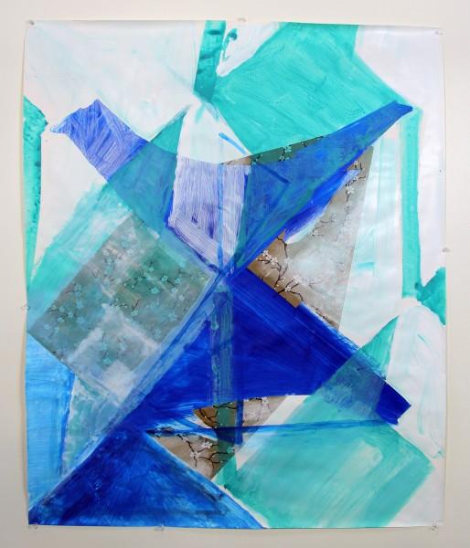 Houndstooth Series  (blue bird)