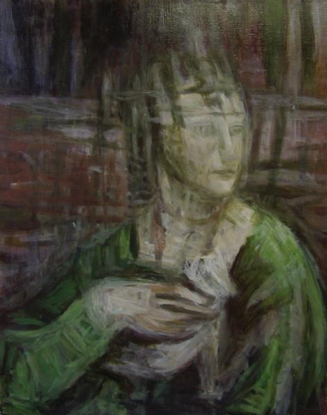 Portrait of Da Vinci as a Girl
