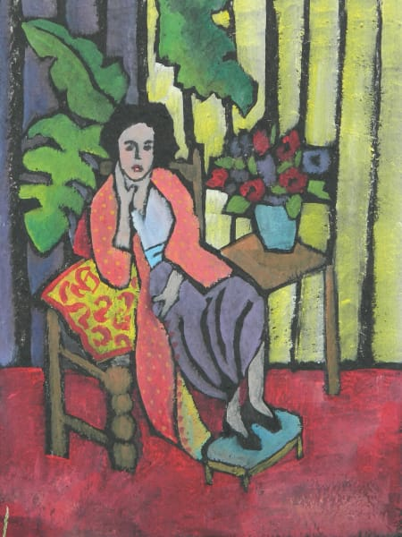 Woman in the Red Robe