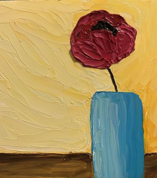 Poppy in a Vase 2