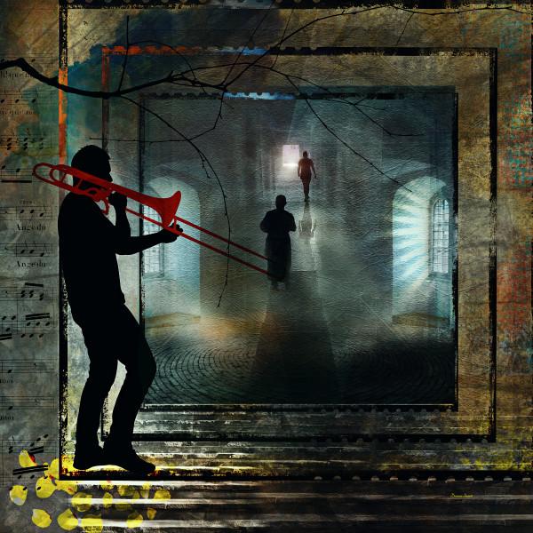 Silhouette Trombone