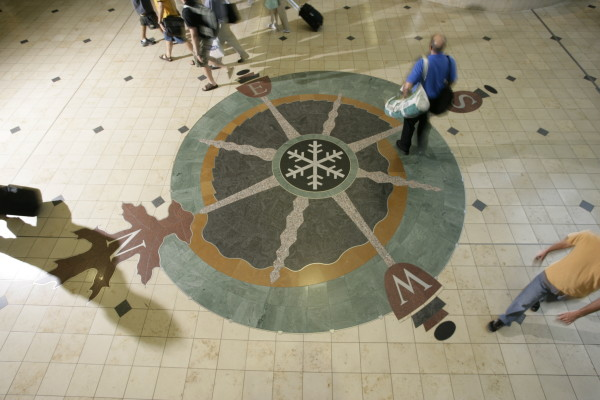 A Boreal Triad: Minnesota Compass Rose by Andrea Myklebust and Stanton G. Sears