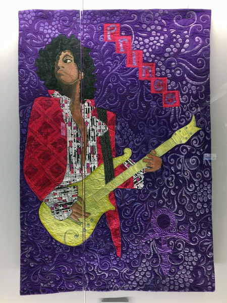 His Purple Reign: A Textural Tribute to Prince
