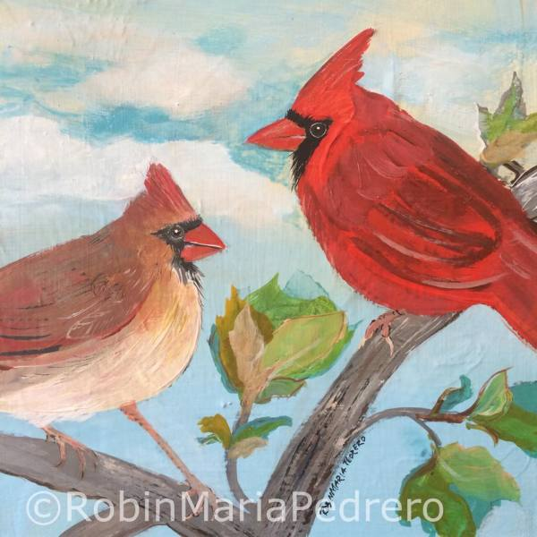 A Couple of Cardinals