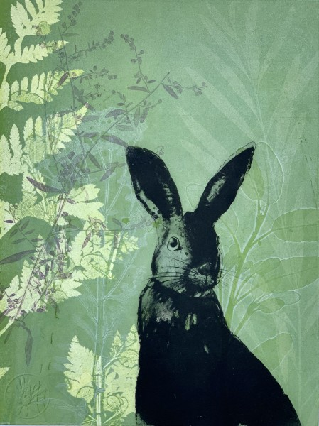 Cheeky Rabbit in the newness of Spring