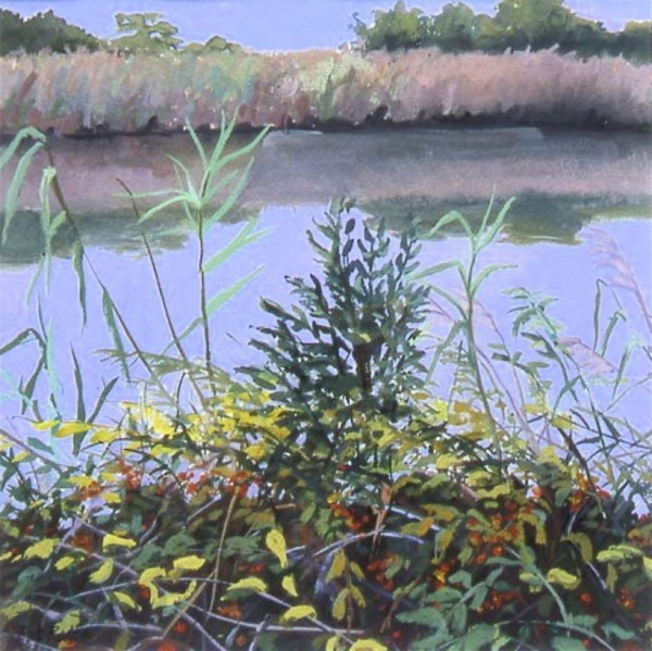 On the Bank of the Inlet