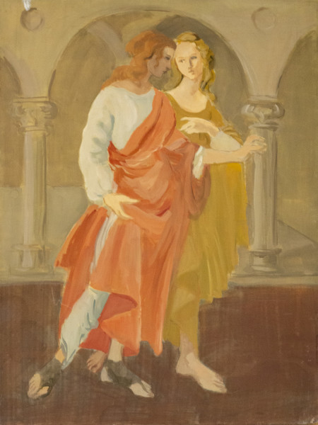 Untitled #293 (Medieval Couple)