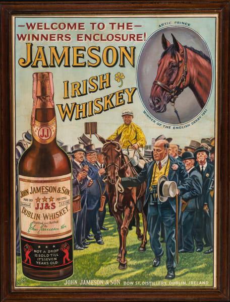 Welcome to the Winners' Enclosure, Jameson Irish Whiskey