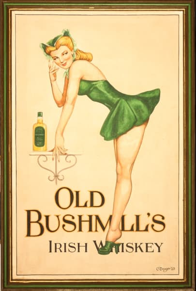 Old Bushmill's Irish Whiskey