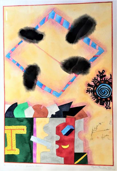 """Anno Va Vions  on Past +  Prospective Dreams"" by Martin Bradley"