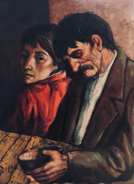 """""""The Supper"""" by Antonio Diego Voci #C102"""