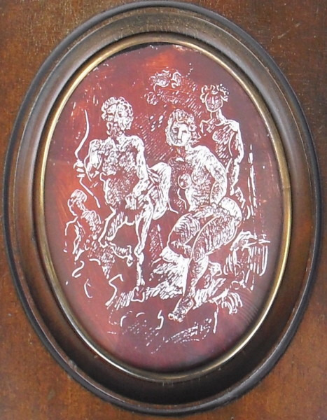 """Centaur"" petite oval by Antonio Diego Voci #C14"