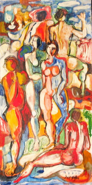 """""""Die Musen Von Pernasus"""" by Antonio Diego Voci #C31"""