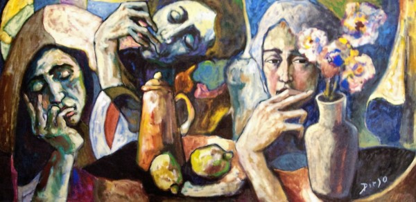 """The Friends"" by Antonio Diego Voci #C39"