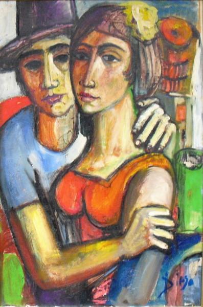 """""""Die Liebenden"""" by Antonio Diego Voci #C43"""