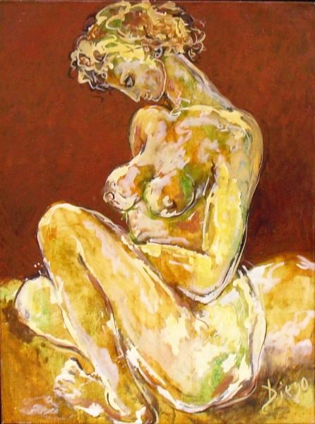 """""""Nude"""" by Antonio Diego Voci #C70"""